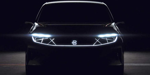 Byton: Chinese EV start-up teases first model