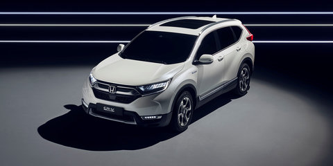 Honda CR-V Hybrid Prototype revealed