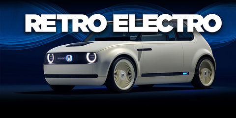 2019 Honda Urban EV concept