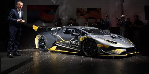 Lamborghini Huracan Super Trofeo Evo revealed for the track