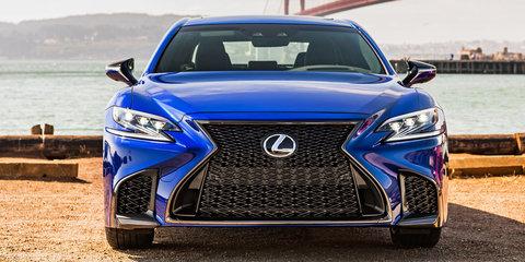 2018 Lexus LS: Australian details