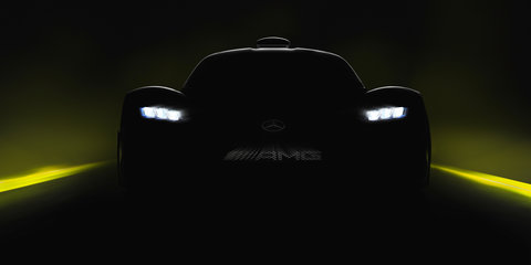 Mercedes-AMG Project One teased again