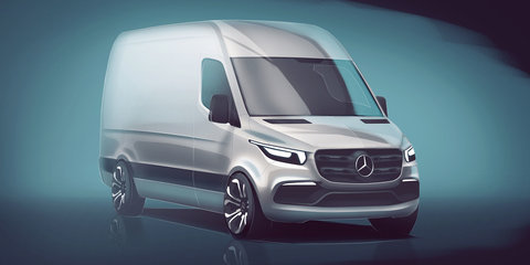 2018 Mercedes-Benz Sprinter teased in new sketch