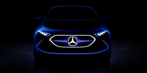 Mercedes-Benz EQ A concept previewed