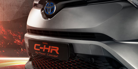 Toyota C-HR 'Hy-Power' concept teased ahead of Frankfurt reveal