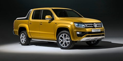 Volkswagen Amarok Aventura Exclusive: 190kW ute concept revealed for Frankfurt