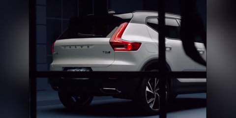 2018 Volvo XC40 accidentally revealed a week early