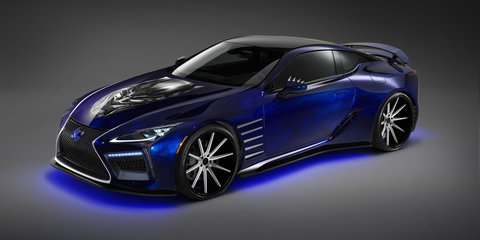 Lexus prepares its fleet for SEMA