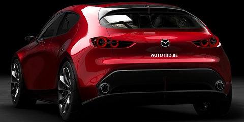 Mazda Kai concept leaked