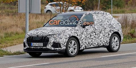 2018 Audi Q3 spied in Germany