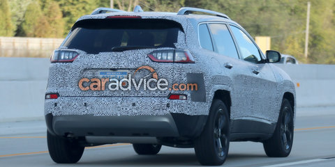 2018 Jeep Cherokee to gain turbo petrol engine