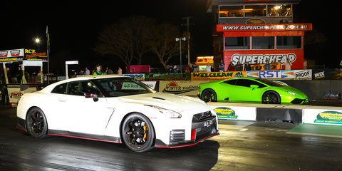 Can the $329,000 Nismo R35 GTR take down a new Lamborghini Huracan? We find out!