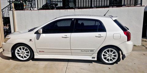 2005 Toyota Corolla Sportivo review