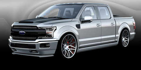 Ford reveals special F-Series trucks and SUVs for SEMA