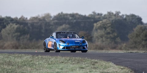 Alpine A110 Cup revealed, one make series headed for Europe