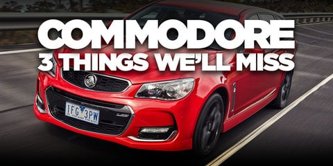 Holden Commodore: We'll miss that properly Aussie wagon