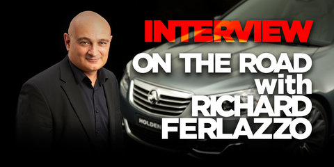 Interview: On the road with Richard Ferlazzo, Holden design boss