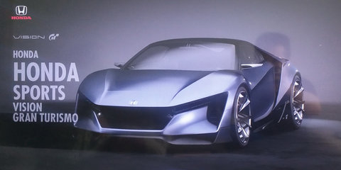 Honda 'baby NSX' patent revealed as Gran Turismo video game racer
