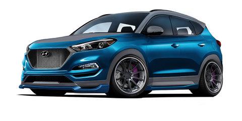 Hyundai Vaccar Tucson Sport concept revealed for SEMA