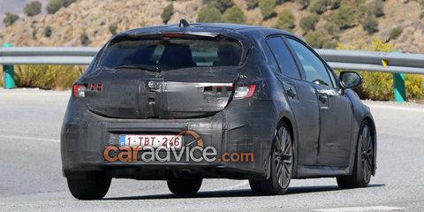 2018 Toyota Corolla hatch spied