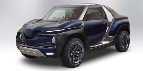 Yamaha Cross Hub ute concept unveiled