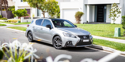 2018 Lexus CT200h F Sport review