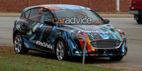 2019 Ford Focus spied undisguised