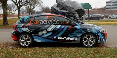 2018 Ford Focus drops disguise