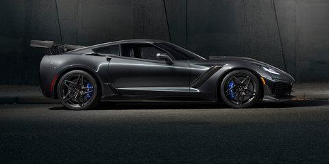 2019 Chevrolet Corvette ZR1 revealed