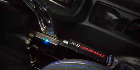 Ford Performance develops 'Drift Stick' for Focus RS