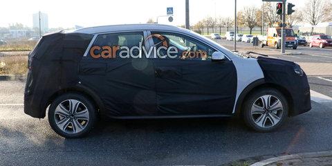 2018 Kia Niro EV spied