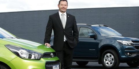 Holden sees growth potential in 2018, as full importer