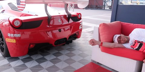 Who needs enemies with friends like these? Brutal Ferrari Wake-up call