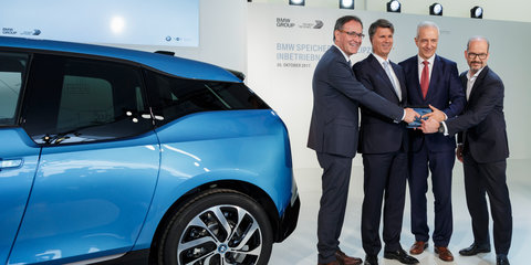 Used batteries put to work as BMW produces 100,000th i3