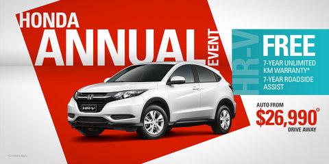 Honda offering seven-year, unlimited-kilometre warranty until December 31