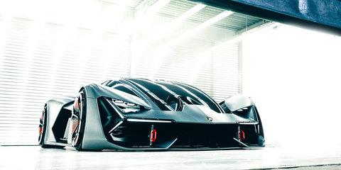 Lamborghini and MIT unveil Terzo Millennio