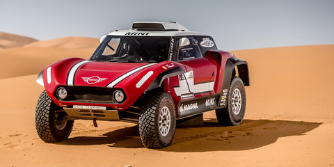 Mini to tackle Dakar in rear-drive JCW Buggy