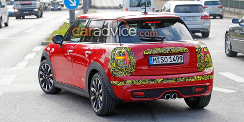 2018 Mini Cooper S snapped during testing