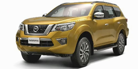 2018 Nissan Navara SUV spied and leaked in China
