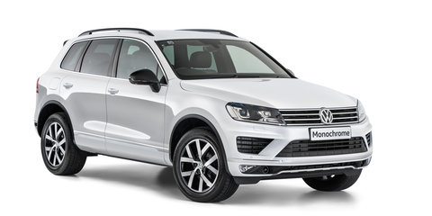 Volkswagen Touareg Monochrome arrives from $74,990