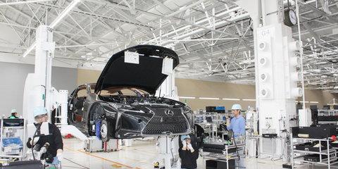 Touring Toyota's marvellous Motomachi and Lexus LC production