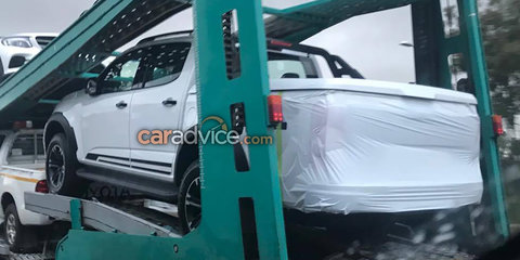 HSV to unveil modified Colorado on Friday December 8: Vehicles spied on transporter
