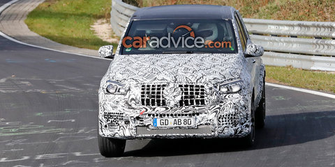 2018 Mercedes-AMG GLE63 spied with new face