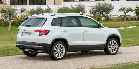 2018 Skoda Karoq here in September