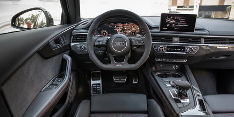2018 Audi RS4 Avant pricing and specs