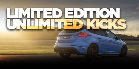 2018 Ford Focus RS Limited Edition road and track drive