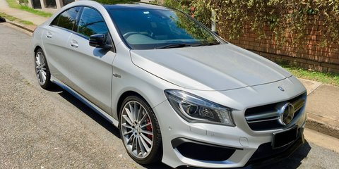 2014 Mercedes-Benz CLA45 AMG review