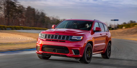 Jeep Grand Cherokee Trackhawk lobs at $135k
