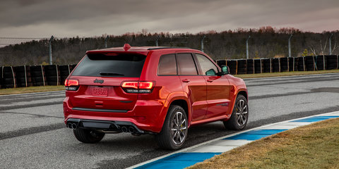 Jeep expects Australia to be world number two for Grand Cherokee Trackhawk sales