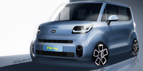 Kia Ray: Updated micro car teased for Korea